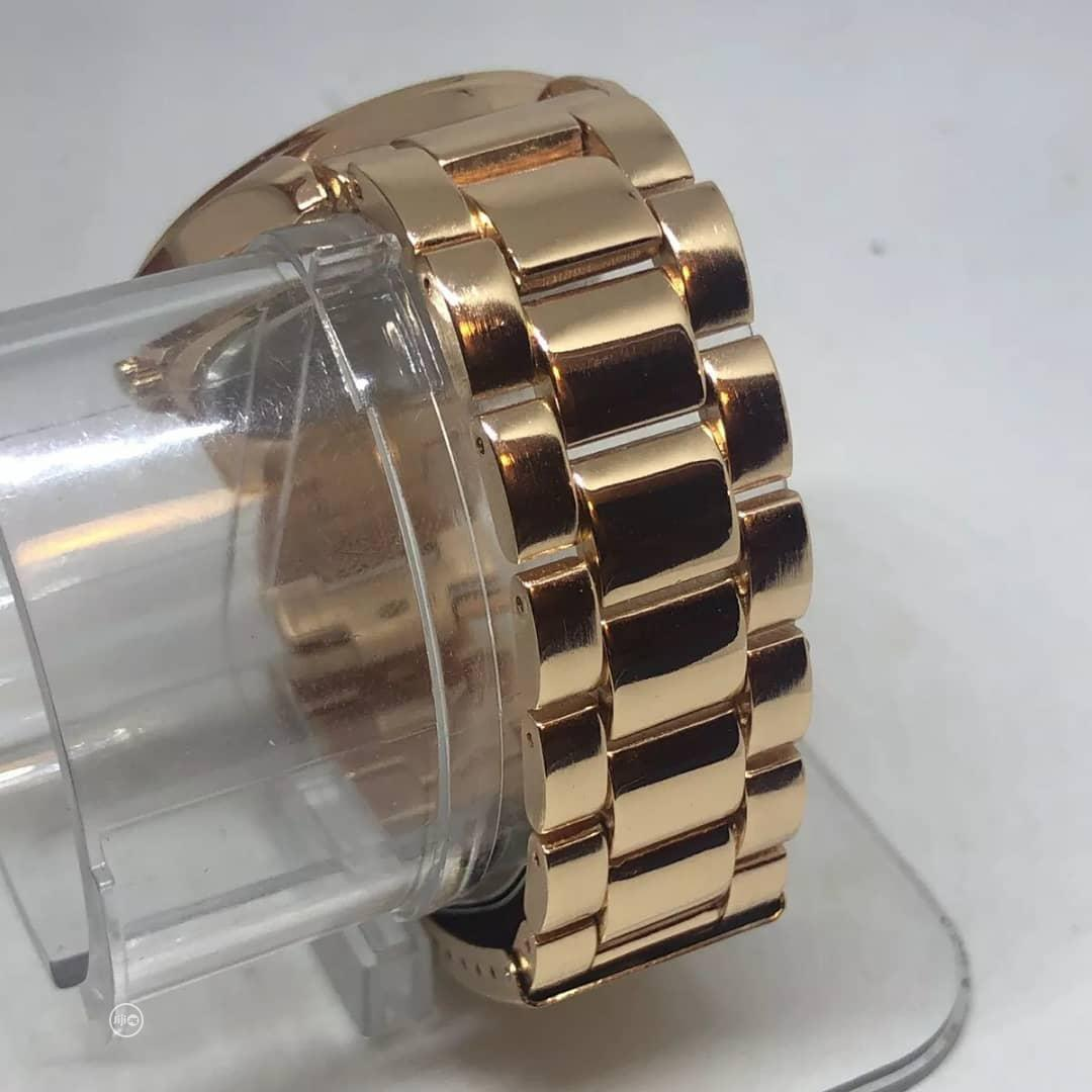 Geneva's Women Rose Gold Analogue Wristwatch | Watches for sale in Wuse 2, Abuja (FCT) State, Nigeria