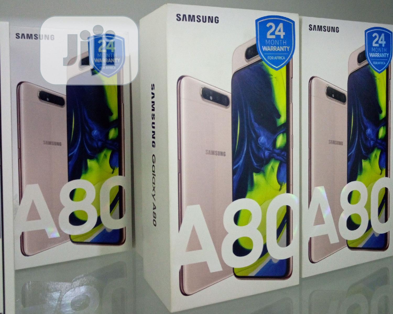 New Samsung Galaxy A80 128 GB Gold