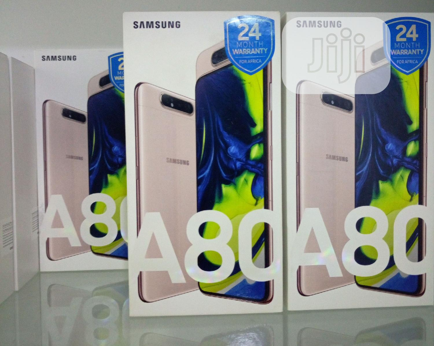 New Samsung Galaxy A80 128 GB Gold | Mobile Phones for sale in Ikeja, Lagos State, Nigeria