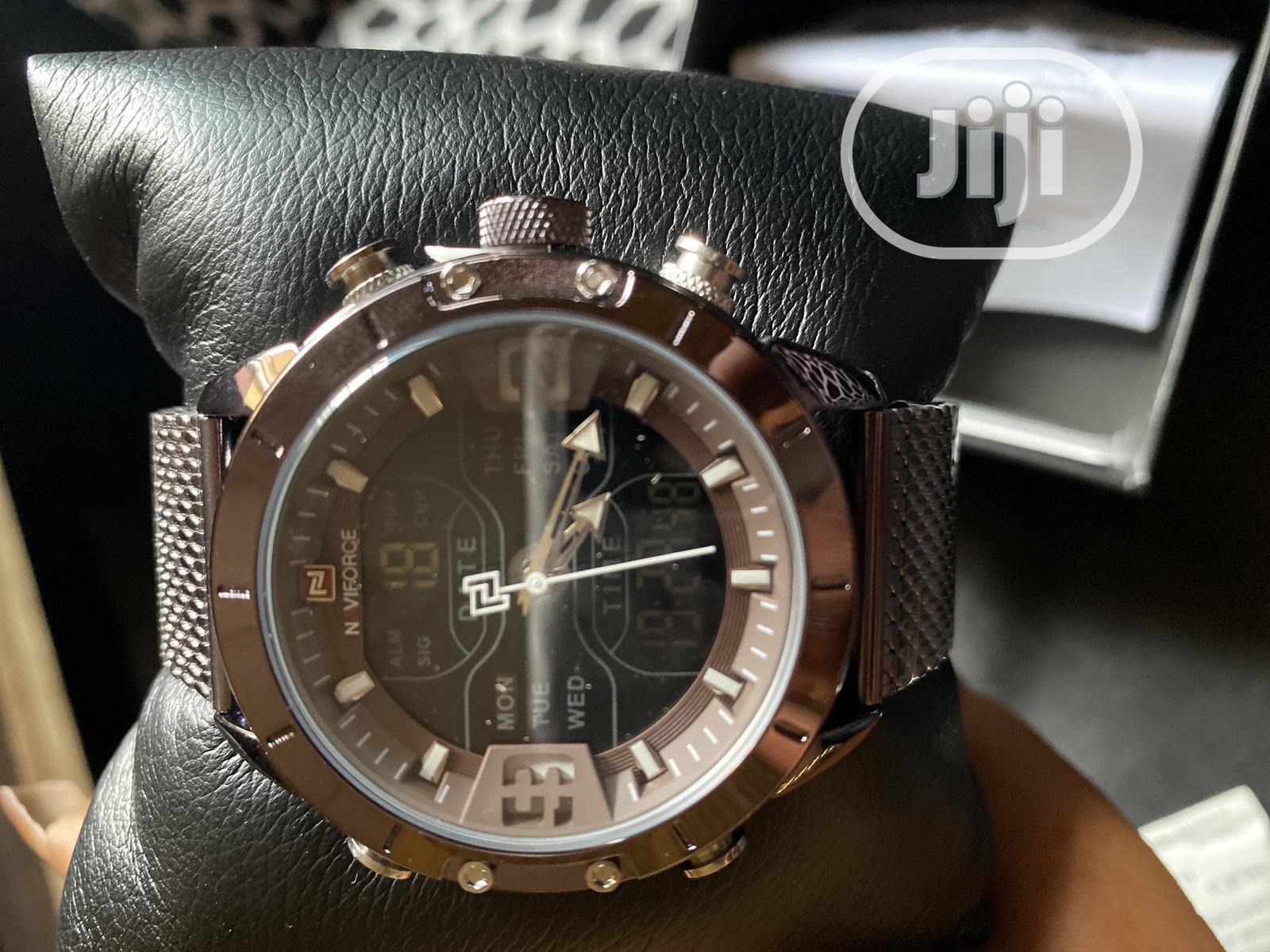 Naviforce Waterproof Wristwatch
