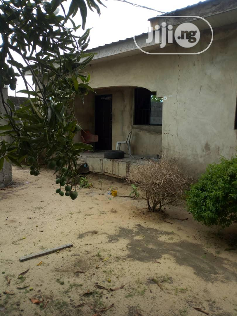 3 Bedroom Bungalow With Bq on a Completely Fenced Land | Houses & Apartments For Sale for sale in Ajah, Lagos State, Nigeria