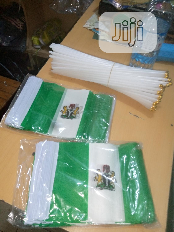 Mini Nigeria Flag