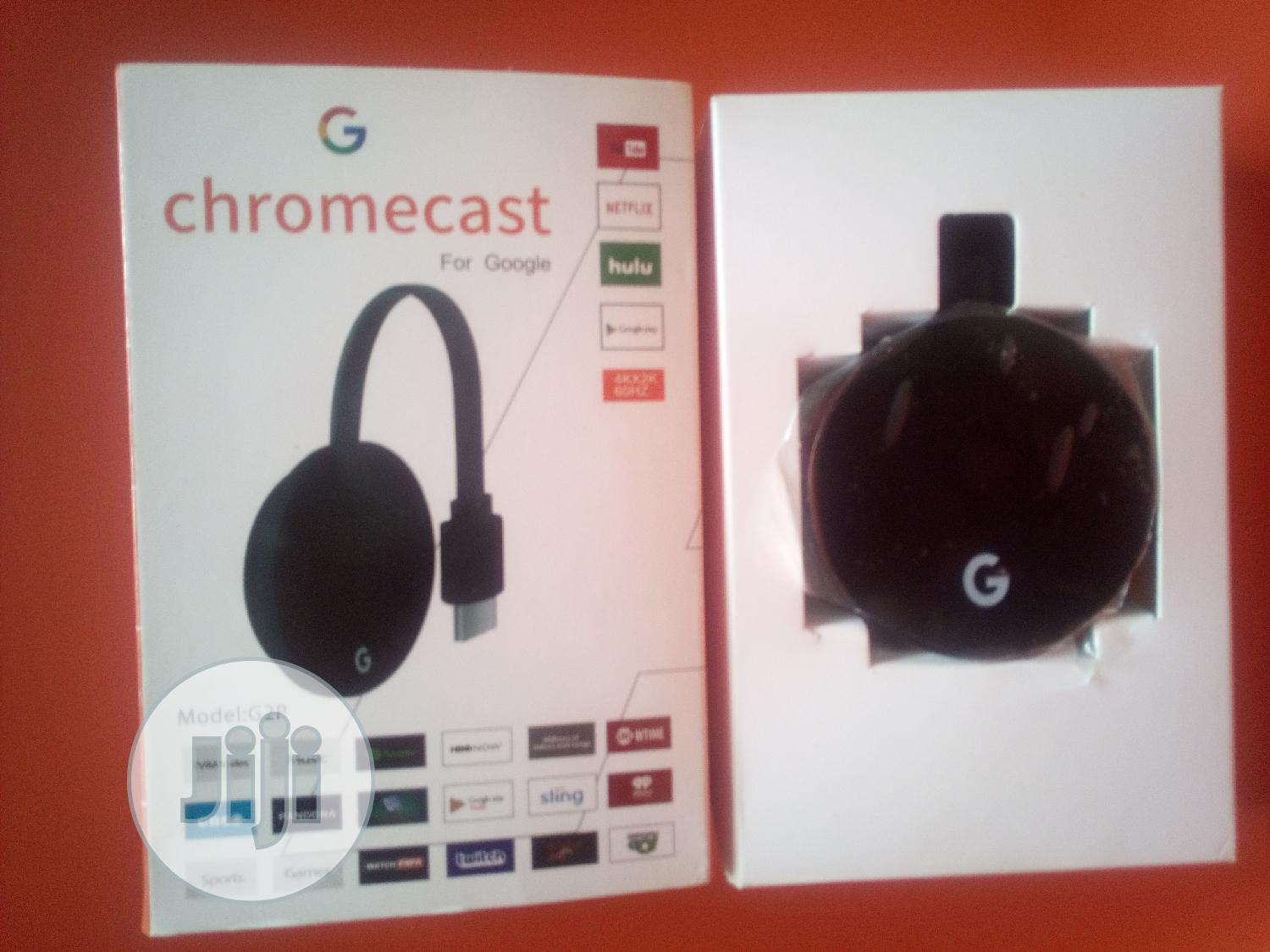 Google Chromecast Connect Phone To TV Supports Netflix | Accessories & Supplies for Electronics for sale in Ajah, Lagos State, Nigeria