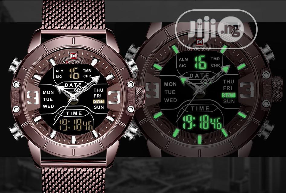 Naviforce Waterproof Wristwatch   Watches for sale in Ibadan, Oyo State, Nigeria