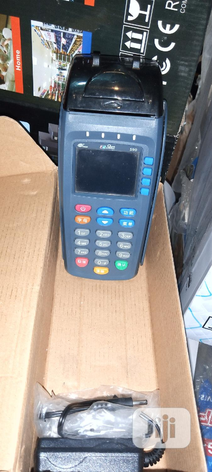 POS S90 Mobile Payment Terminal | Store Equipment for sale in Ikeja, Lagos State, Nigeria