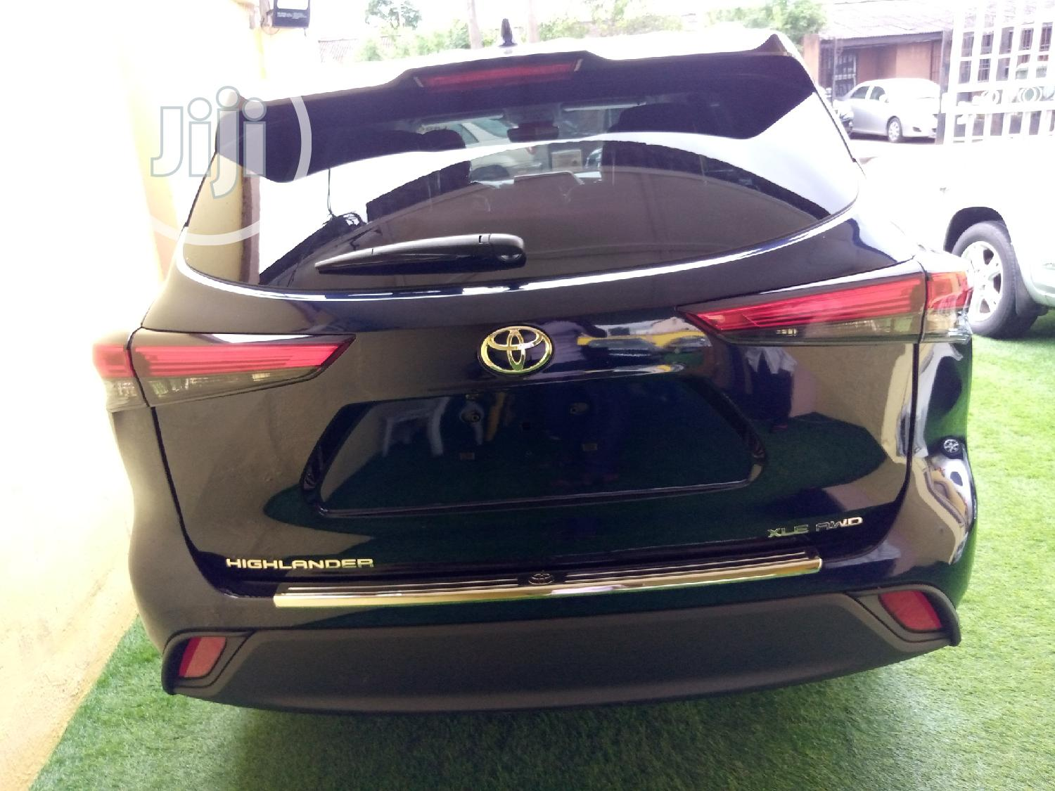 Toyota Highlander 2020 XLE AWD Blue   Cars for sale in Surulere, Lagos State, Nigeria