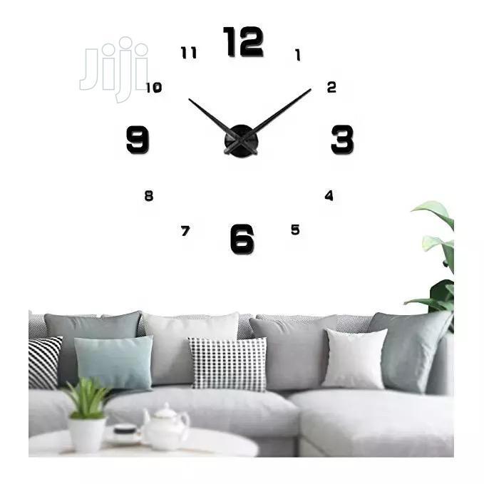 Decorative 3D Large Wall Clock