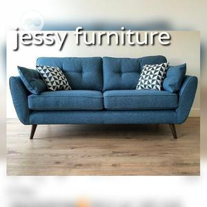 2 Seater Fabric Sofa Absolutely Comfortable and Stylish | Furniture for sale in Lagos State, Ikoyi