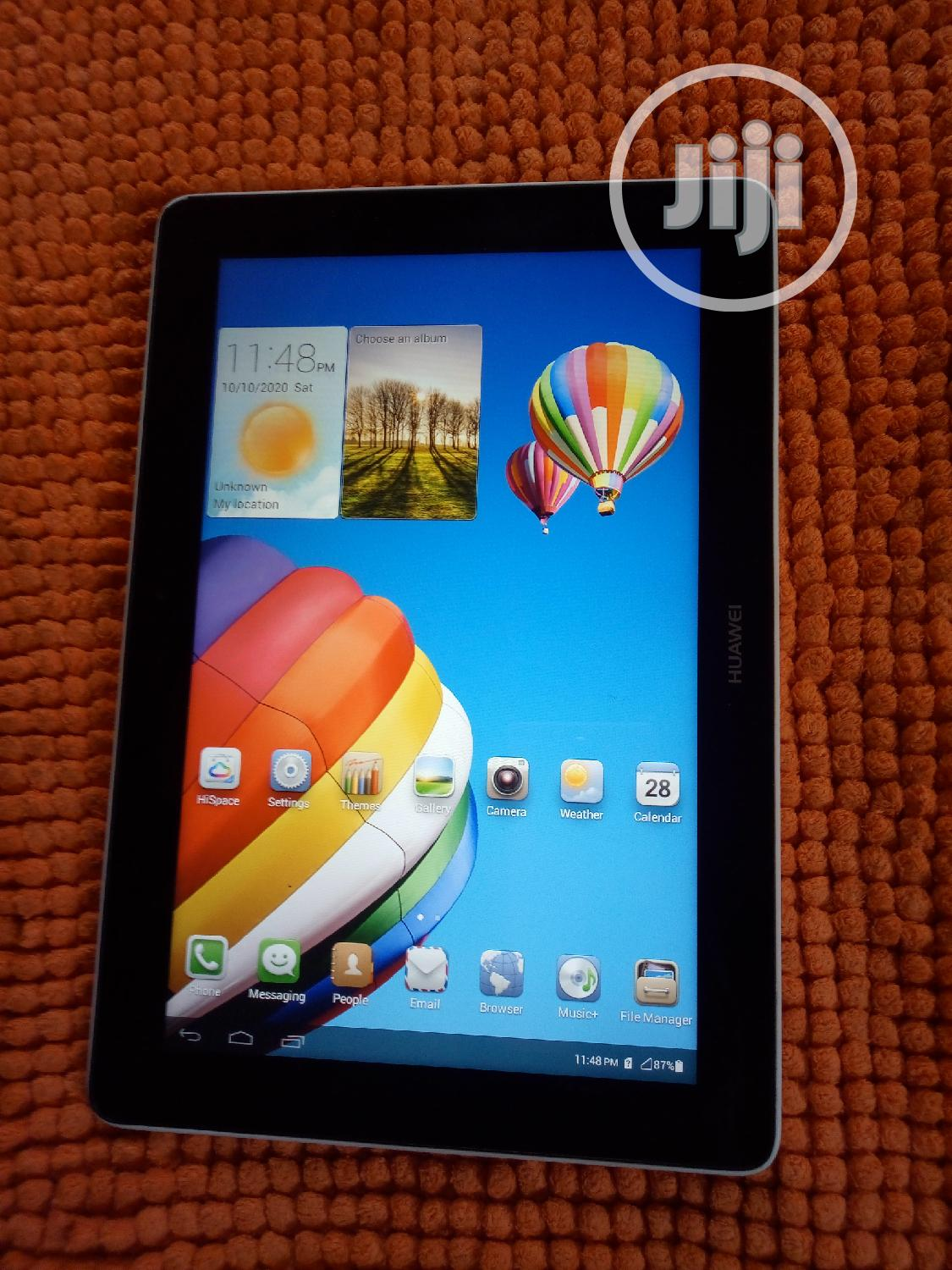 Huawei MediaPad 10 Link+ 16 GB Gray | Tablets for sale in Apapa, Lagos State, Nigeria