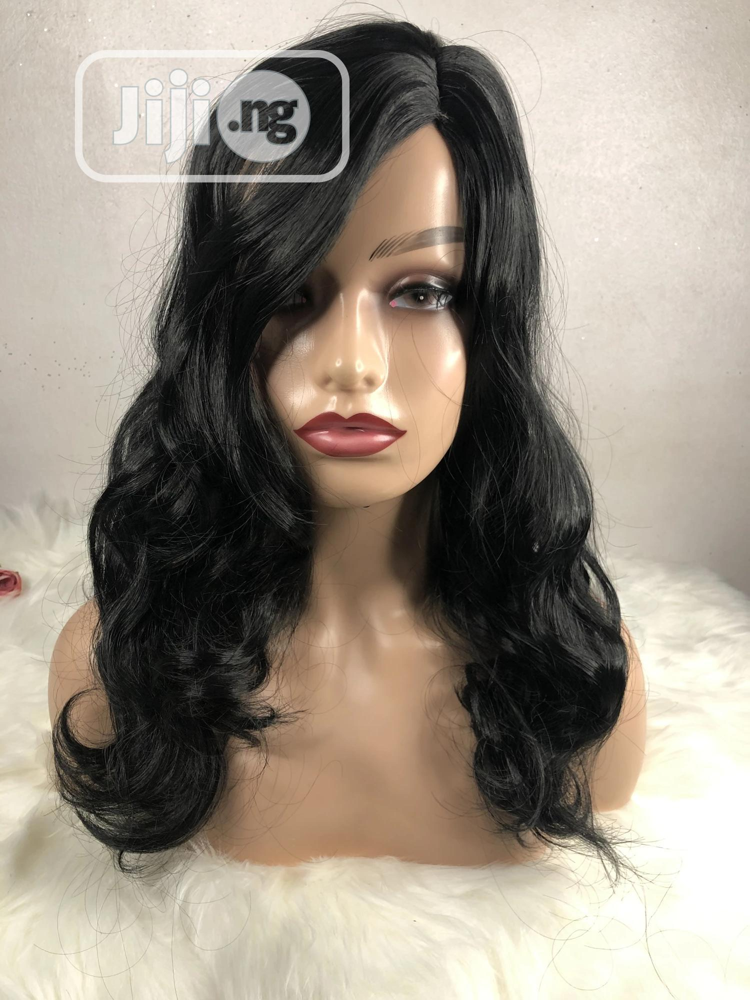 14 Inches Bouncy Wig | Hair Beauty for sale in Ikeja, Lagos State, Nigeria