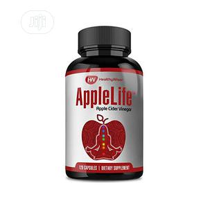 Healthy Wiser Apple Cider Vinegar Capsules 1000mg 120 Tablet | Vitamins & Supplements for sale in Lagos State, Amuwo-Odofin