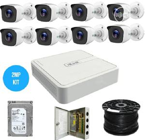 Hilook By Hikvision 8CH 2MP Turbo HD Kit   Security & Surveillance for sale in Lagos State, Ikeja