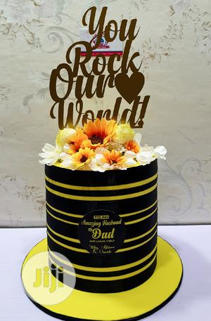 Cake for Dad and Engagement Cake   Party, Catering & Event Services for sale in Lagos State, Agboyi/Ketu