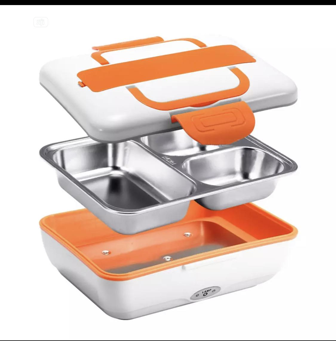 Electric Stainless Lunch Box