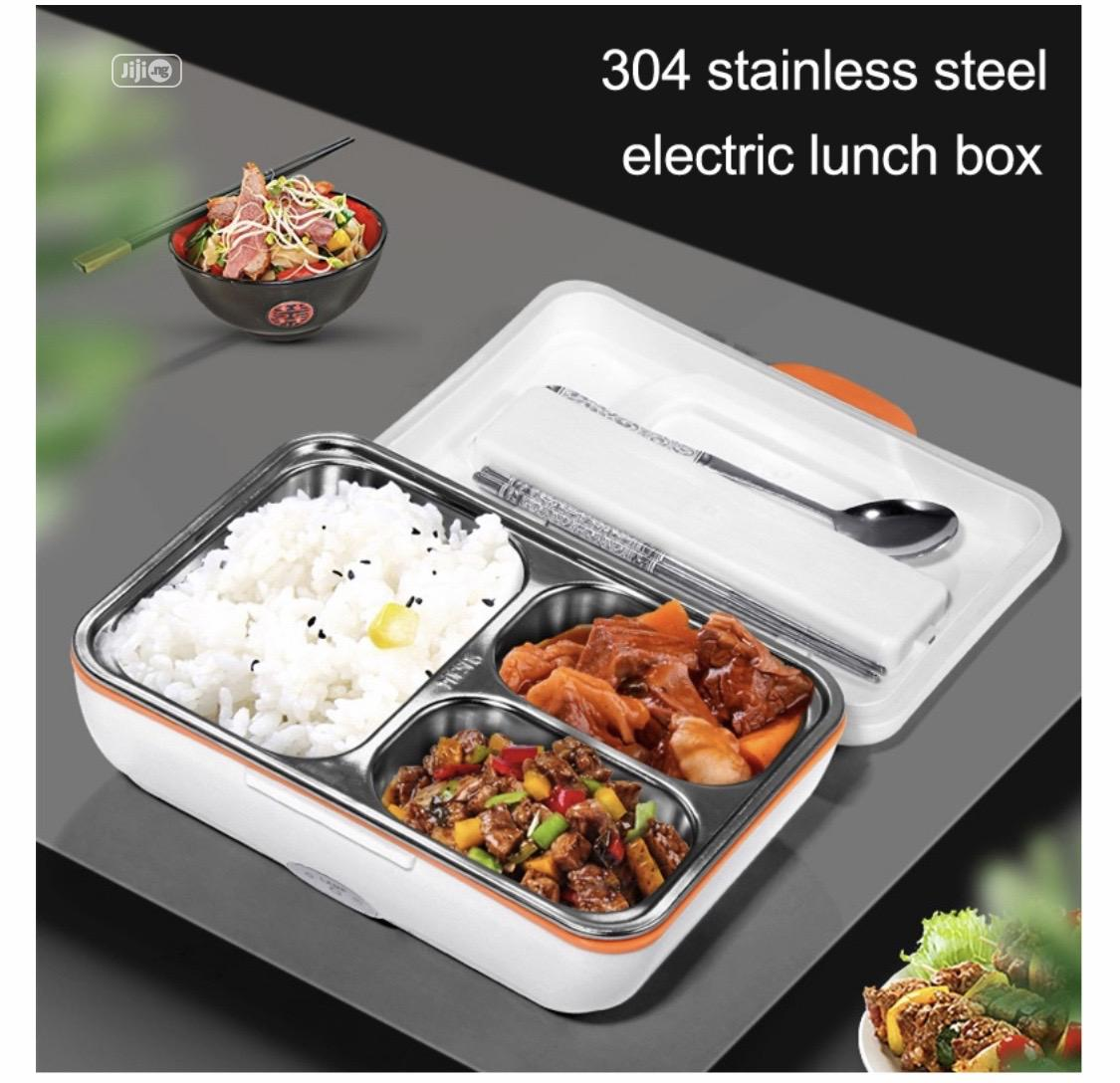 Electric Stainless Lunch Box | Kitchen & Dining for sale in Ajah, Lagos State, Nigeria