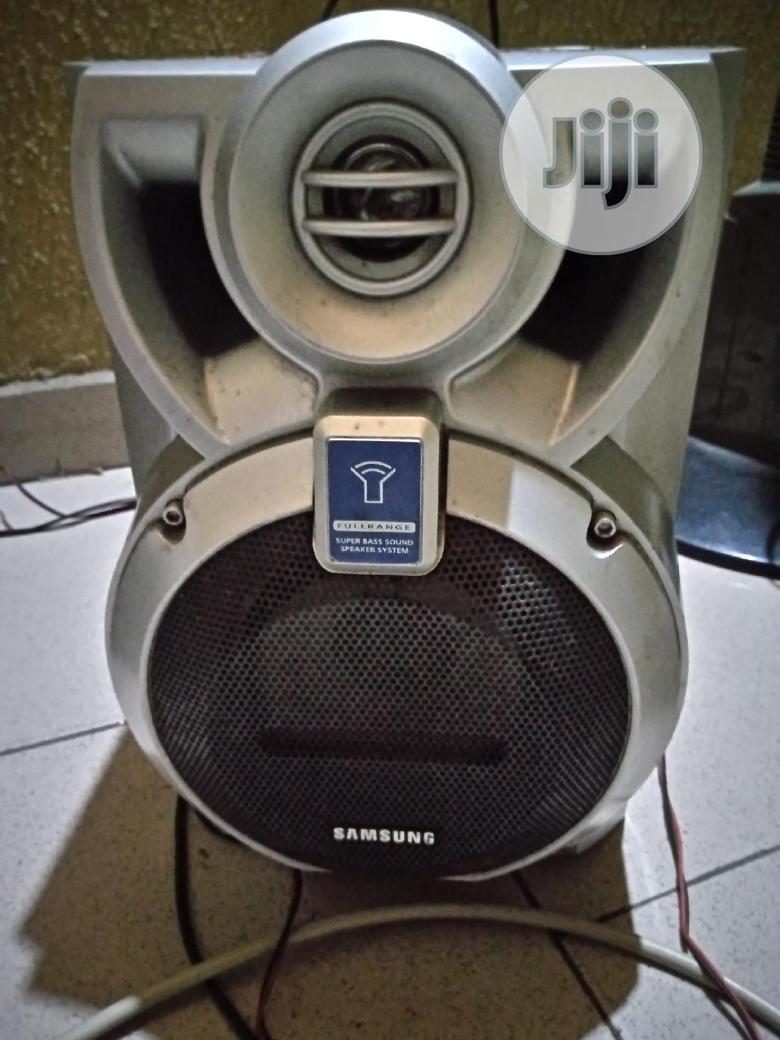 Samsung Vcd With 2big Speakers   Audio & Music Equipment for sale in Uvwie, Delta State, Nigeria