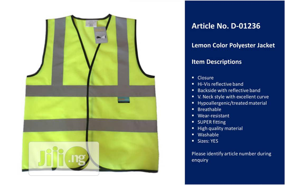 Reflective Jacket | Safetywear & Equipment for sale in Amuwo-Odofin, Lagos State, Nigeria