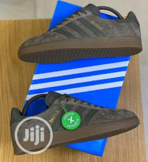 Adidas Originals Gazelle Utility Grey Sneakers Original | Shoes for sale in Lagos State, Surulere