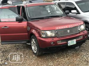 Land Rover Range Rover Sport 2007 HSE 4x4 (4.4L 8cyl 6A) Red   Cars for sale in Lagos State, Ojodu