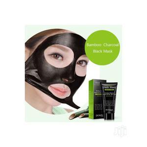 Bio Aqua Black Mask Black Head Acne Anti-Aging Face Mask | Skin Care for sale in Lagos State, Agege