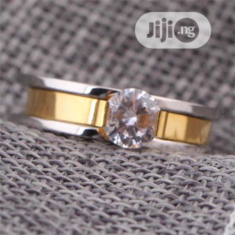 Bow Stainless Steel Wedding Ring | Wedding Wear & Accessories for sale in Port-Harcourt, Rivers State, Nigeria