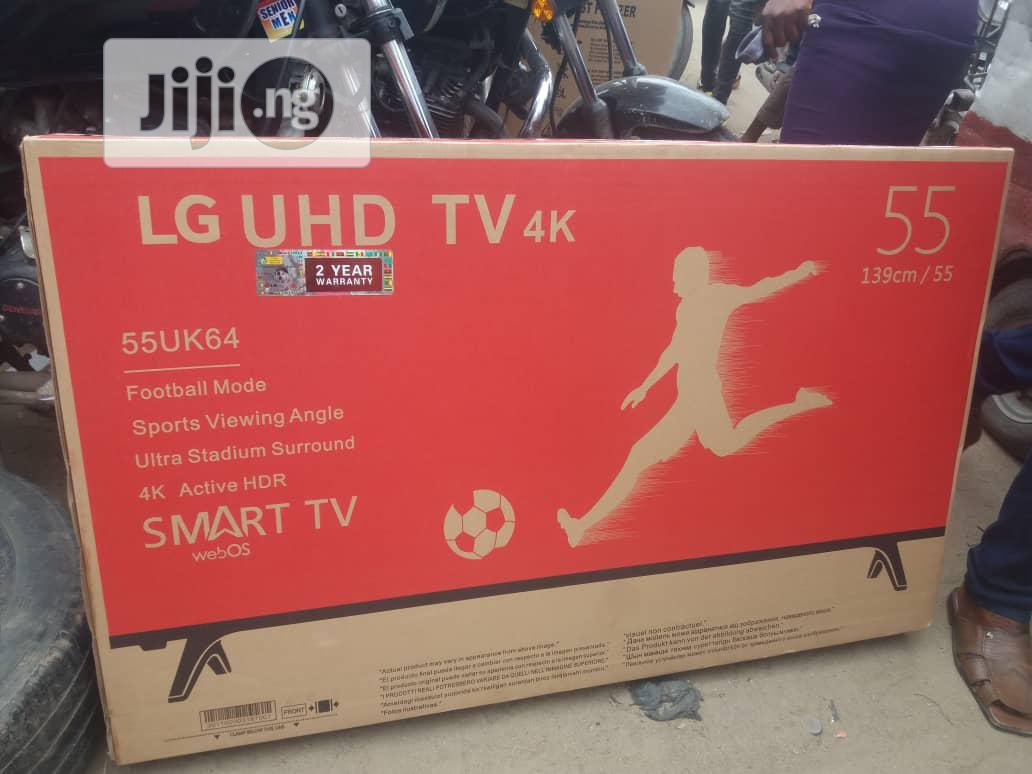 55 Inches LG Smart Television.