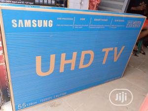 Samsung 55 Inches Smart TV 4K UHD   TV & DVD Equipment for sale in Lagos State, Ojo