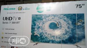 Hisense 75 Inches Smart TV 4K UHD   TV & DVD Equipment for sale in Lagos State, Ojo