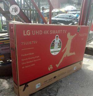 LG 75 Inch Smart TV 4K Uhd   TV & DVD Equipment for sale in Lagos State, Ojo