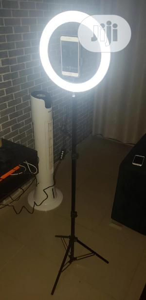 12 Inch LED Ring Light With Stand   Accessories & Supplies for Electronics for sale in Lagos State, Alimosho