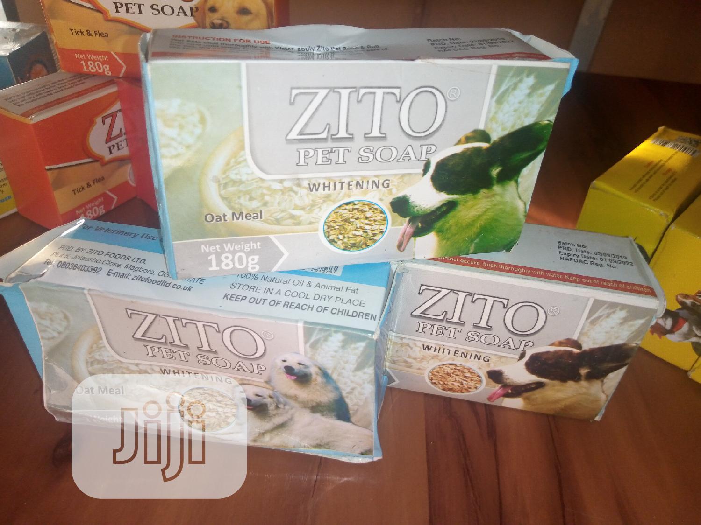 Zito Dog Soap For White Coat Dogs