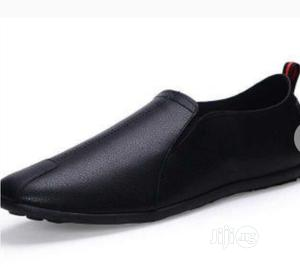 Mens Casual Soft Bottom Peas Leather Shoes | Shoes for sale in Edo State, Benin City