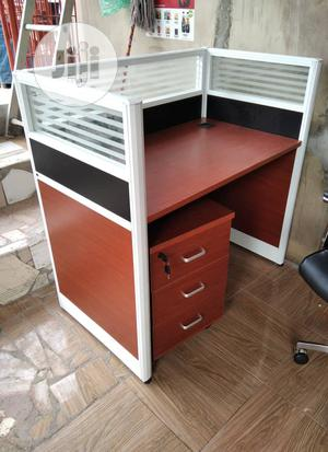Portable Single Office Workstation Table With Drawer | Furniture for sale in Lagos State, Ojo