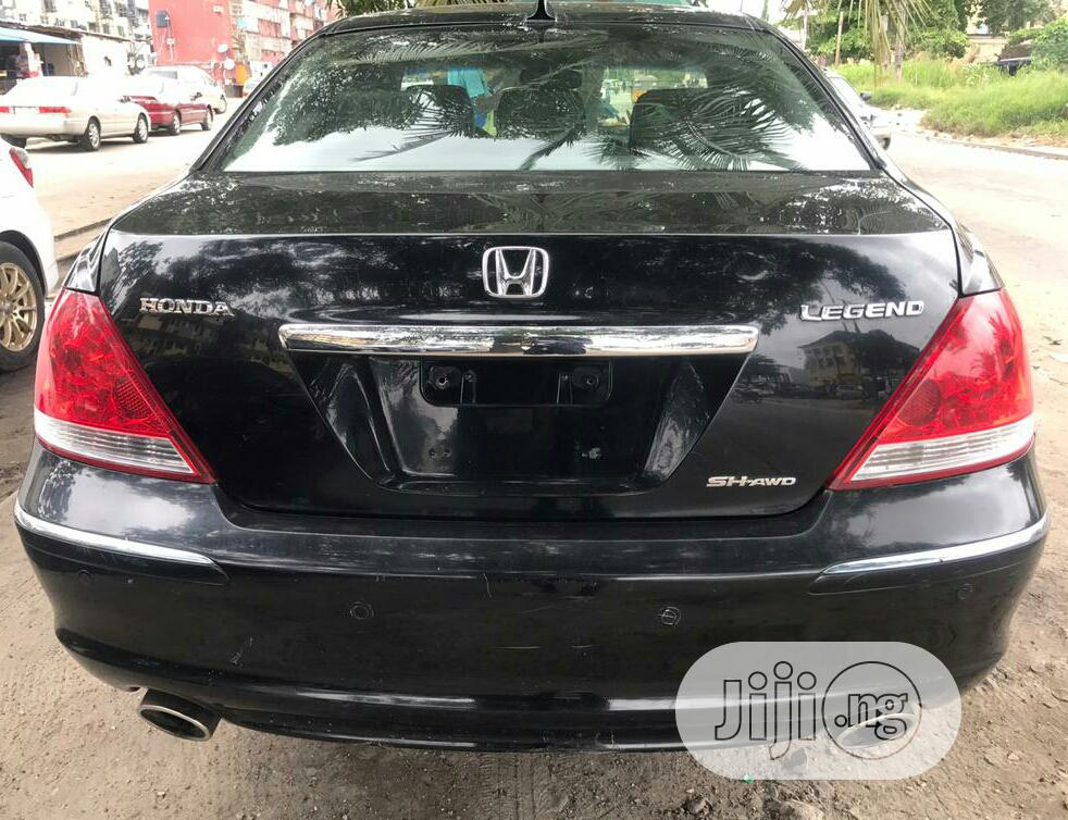 Archive: Honda Legend 2006 3.5i V6 Black