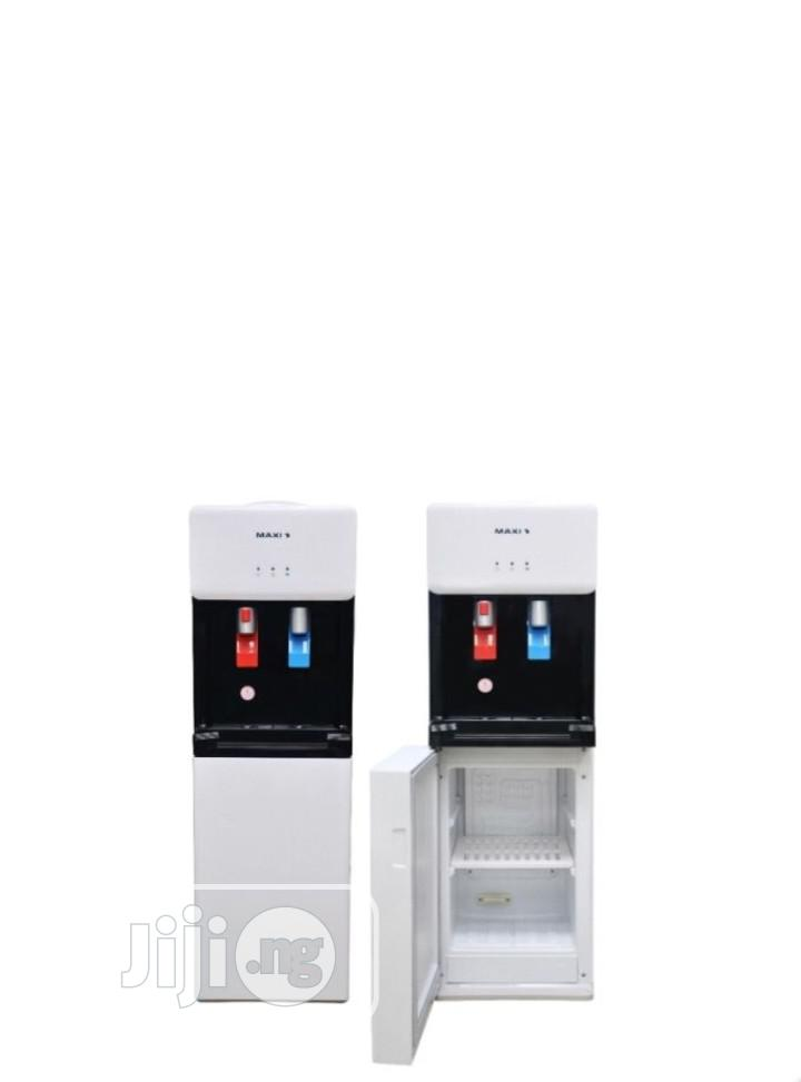 Maxi 2 Faucets Water Dispenser With Refrigerator- WD1675S