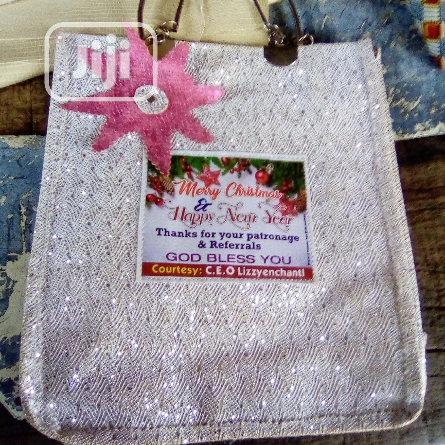 Souvenir Bag We Made For Our Emiable Customer Alhaja Kudira | Bags for sale in Oshodi, Lagos State, Nigeria