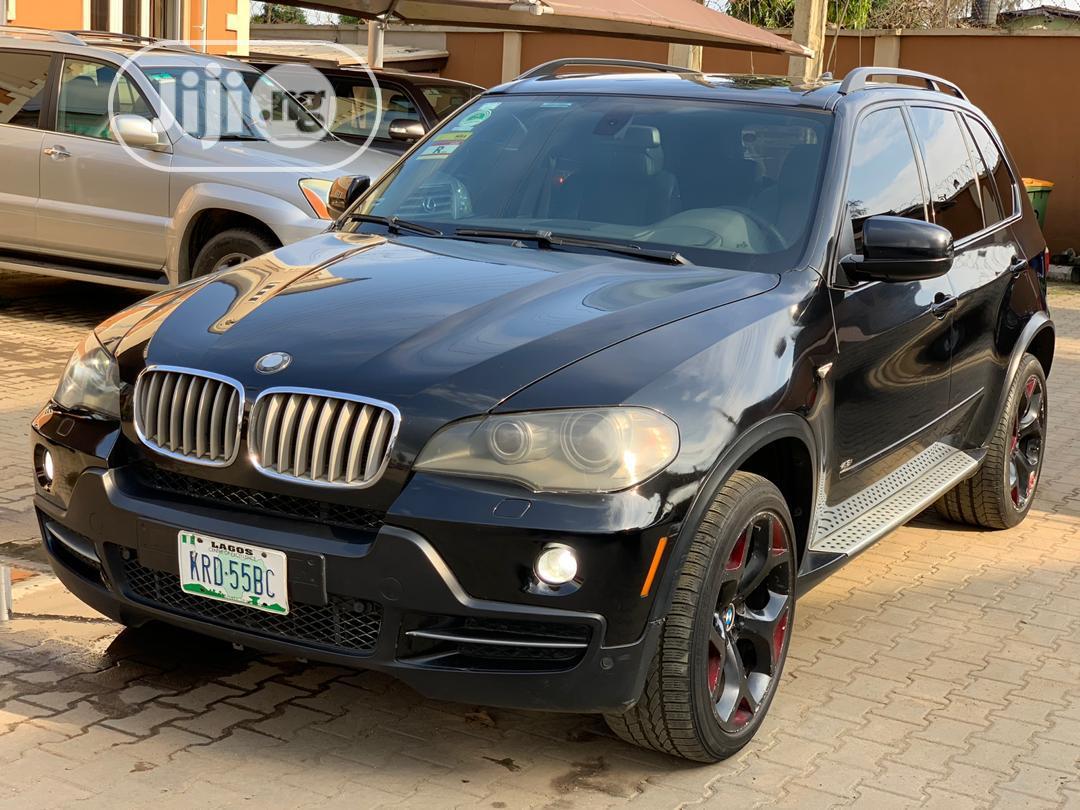 BMW X5 2008 4.8i Black   Cars for sale in Ikeja, Lagos State, Nigeria