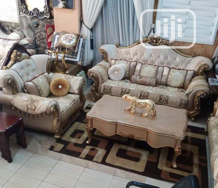 7seater Royal Fabric Sofa Chair Turkish Made
