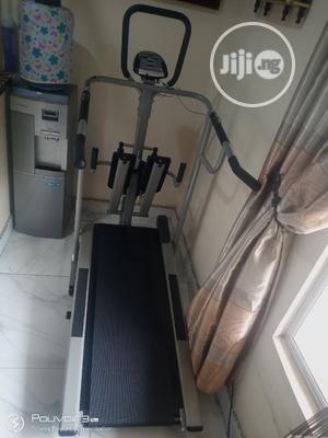 America Fitness Manual Treadmill With Twister and Stepper | Sports Equipment for sale in Lagos State, Surulere
