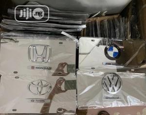 Stainless Steel License Frame   Vehicle Parts & Accessories for sale in Lagos State, Ikeja