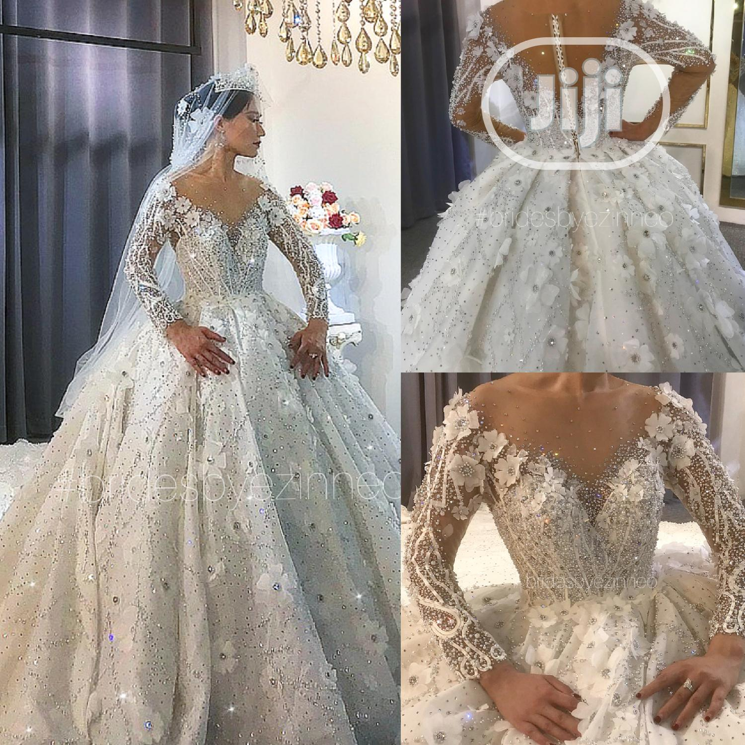 Luxury Wedding Gown for Rent