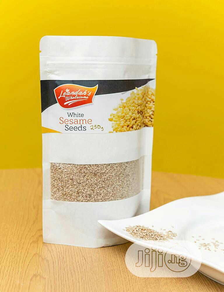 Archive: 500g White Sesame Seeds