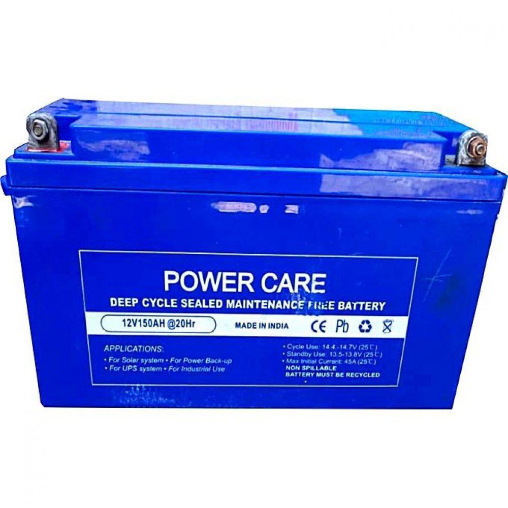 Power Care 12V 150AH Deep Cycle Battery - O11