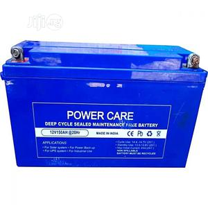 Power Care 12V 150AH Deep Cycle Battery - O11 | Solar Energy for sale in Lagos State, Alimosho