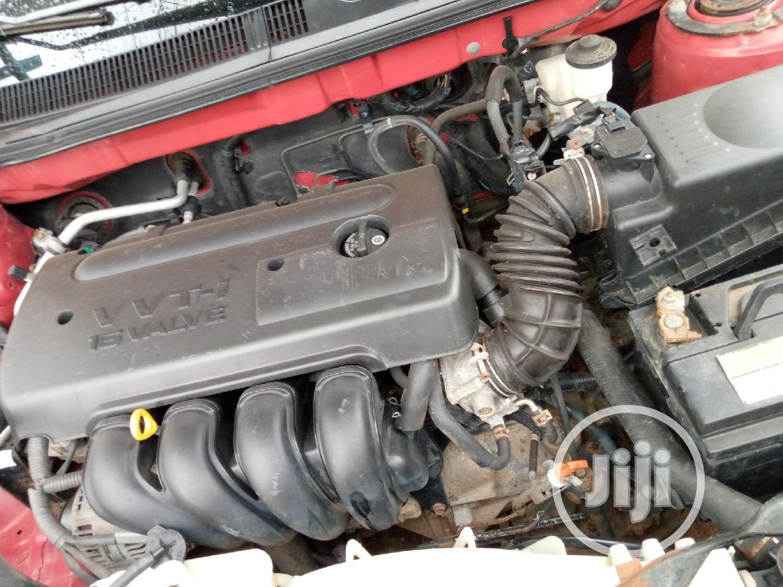 Archive: Pontiac Vibe 2006 AWD Red