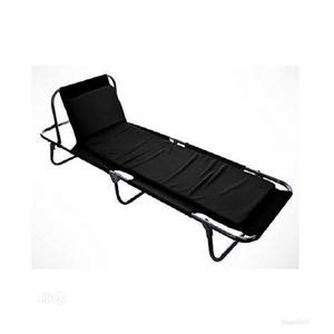 Big Size Camp Bed Foldable (Black)   Camping Gear for sale in Lagos State, Lagos Island (Eko)