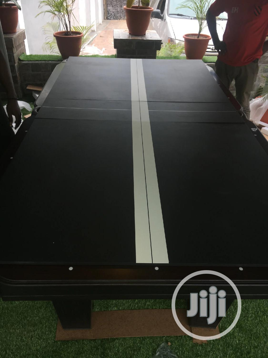 Snooker Board 2 In 1 With Table Tennis. At Promo Price