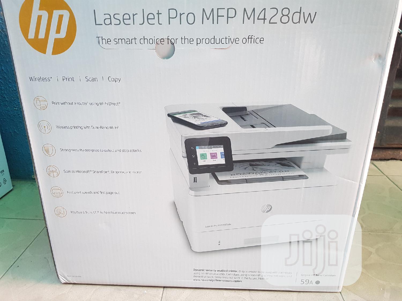 Hp Laserjet Pro Mfp M428dw   Printers & Scanners for sale in Lagos Island (Eko), Lagos State, Nigeria