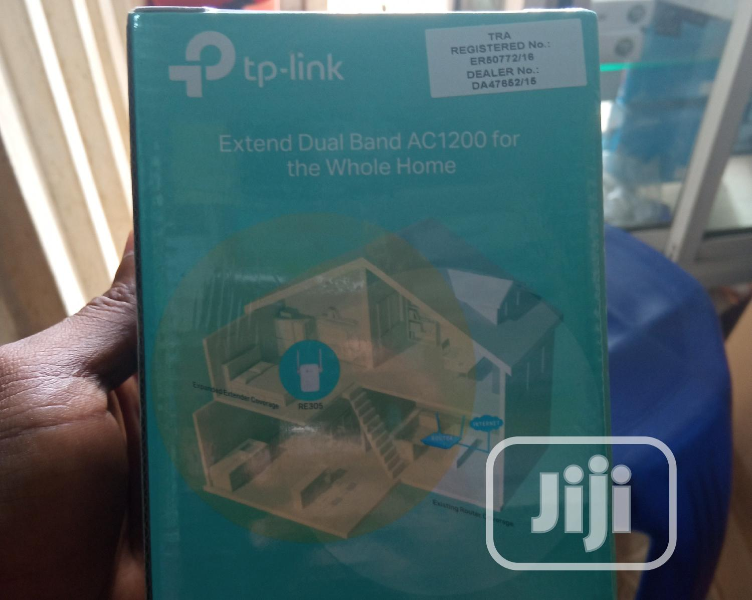 Tp-link Ac1200 Wi-fi Range Extender   Networking Products for sale in Ikeja, Lagos State, Nigeria