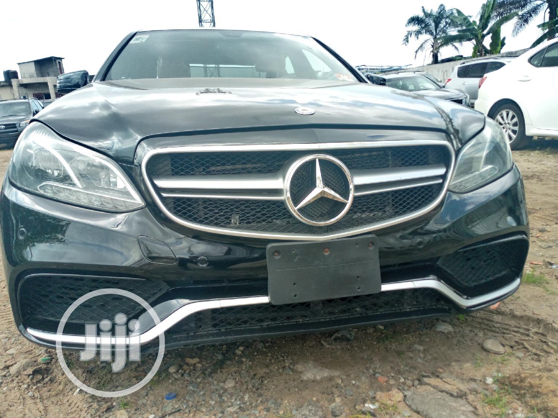 Mercedes-Benz E350 2013 Black